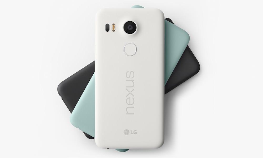 Google Nexus 5x Smartphone Back