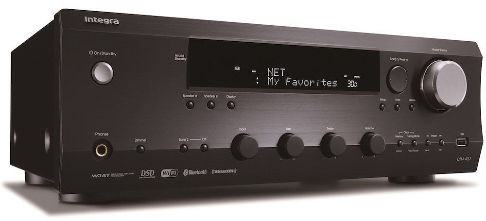 Integra DTM-40.7 Network Stereo Receiver