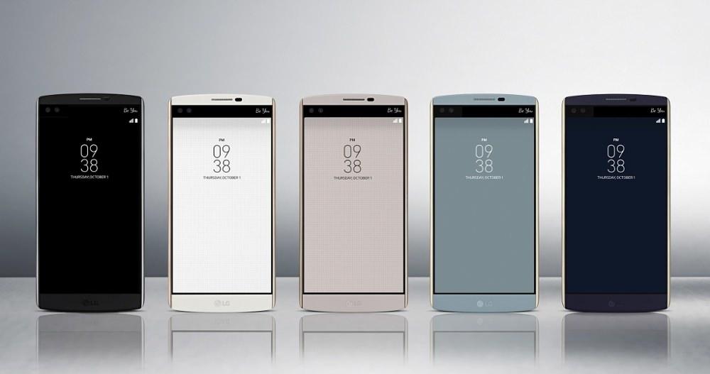 LG V10 Smartphone - Front