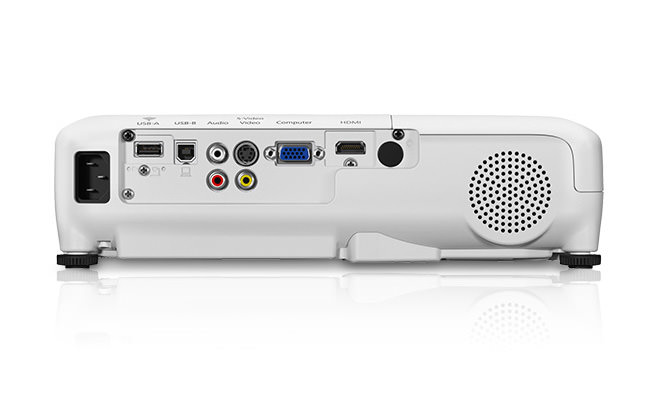 Epson Home Cinema 640 3LCD projector - back