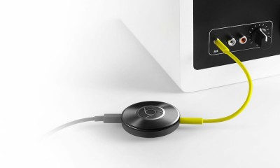 Chromecast Audio Connected to Speaker
