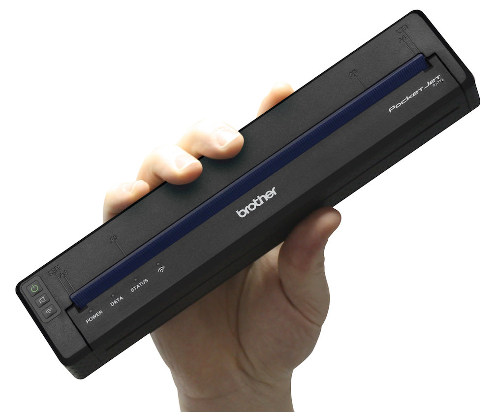 Brother PocketJet 7 Full-Page Mobile Printer - ecoustics com