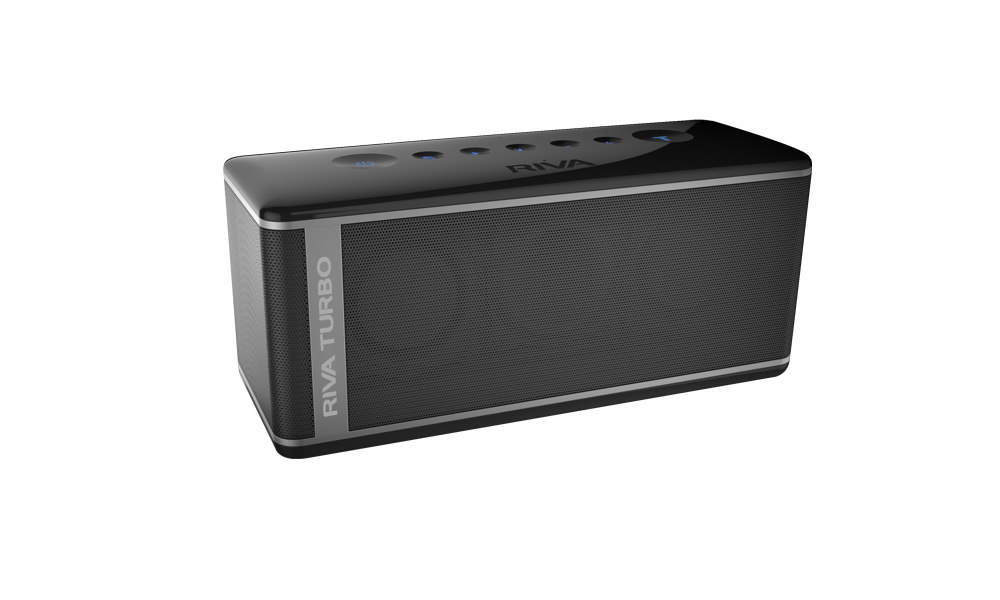 Riva Turbo X Bluetooth Speaker - Black