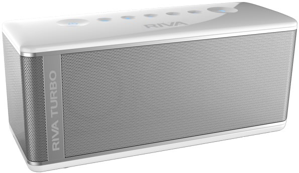 Riva Turbo X Bluetooth Speaker - White
