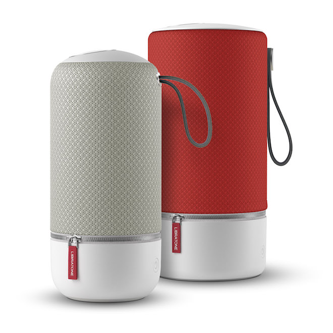 Libratone ZIPP Mini (left) and ZIPP (right) 2015 models