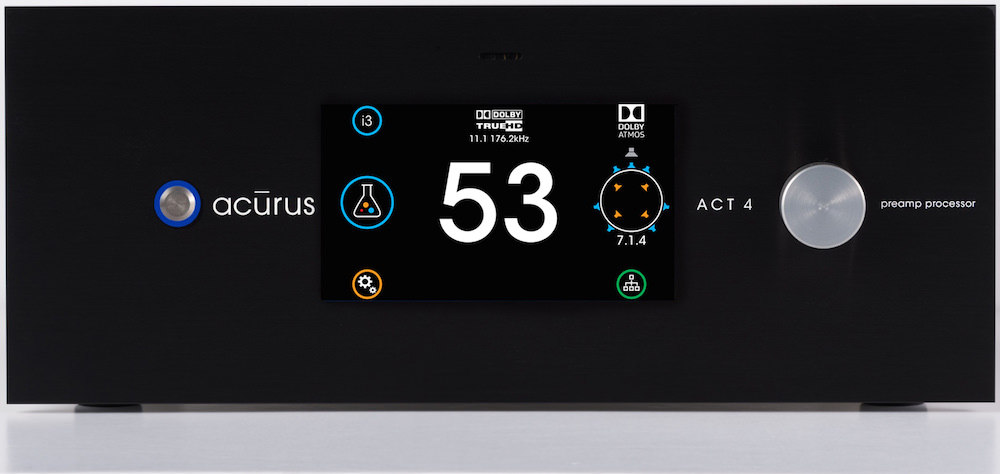 Acurus ACT 4 Preamp Processor