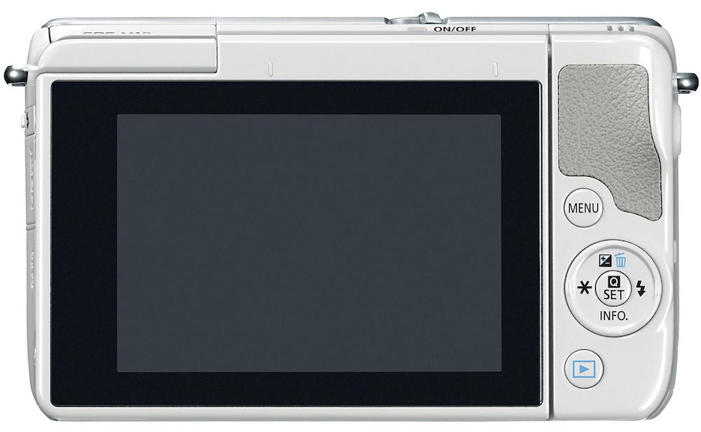 Canon EOS M10 - Back
