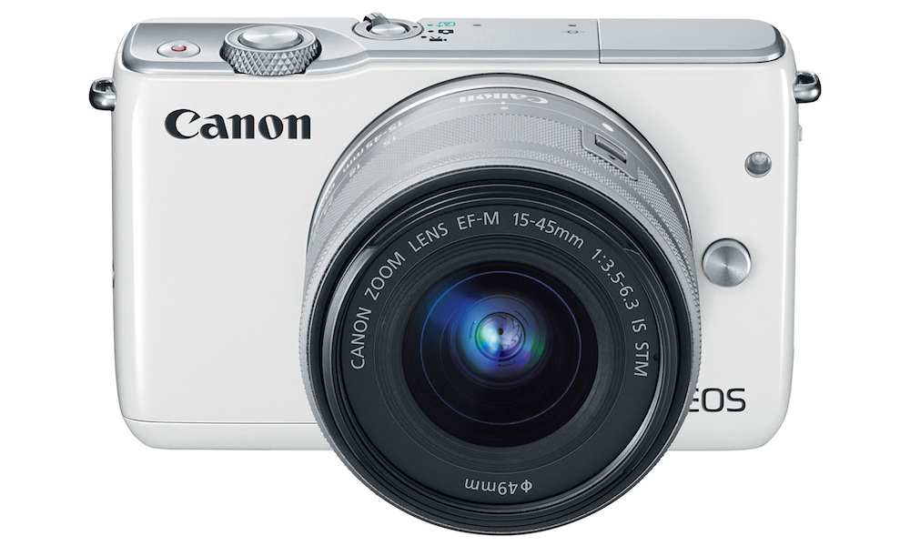 Canon EOS M10 - White Top Front