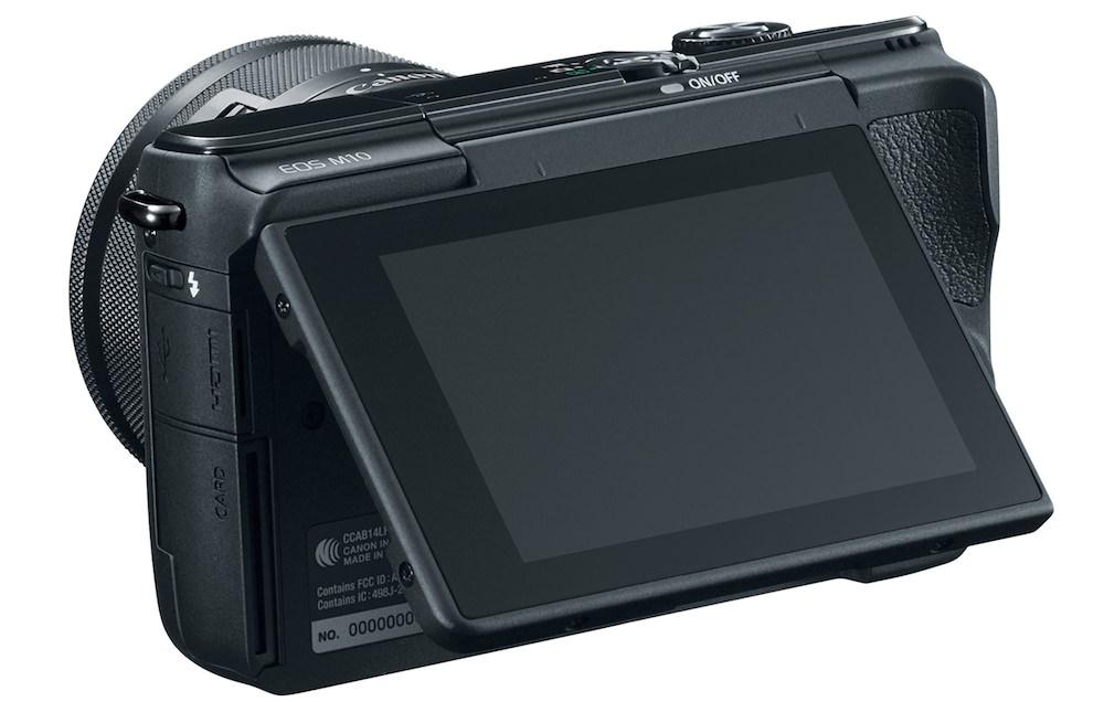 Canon EOS M10 - Back Open
