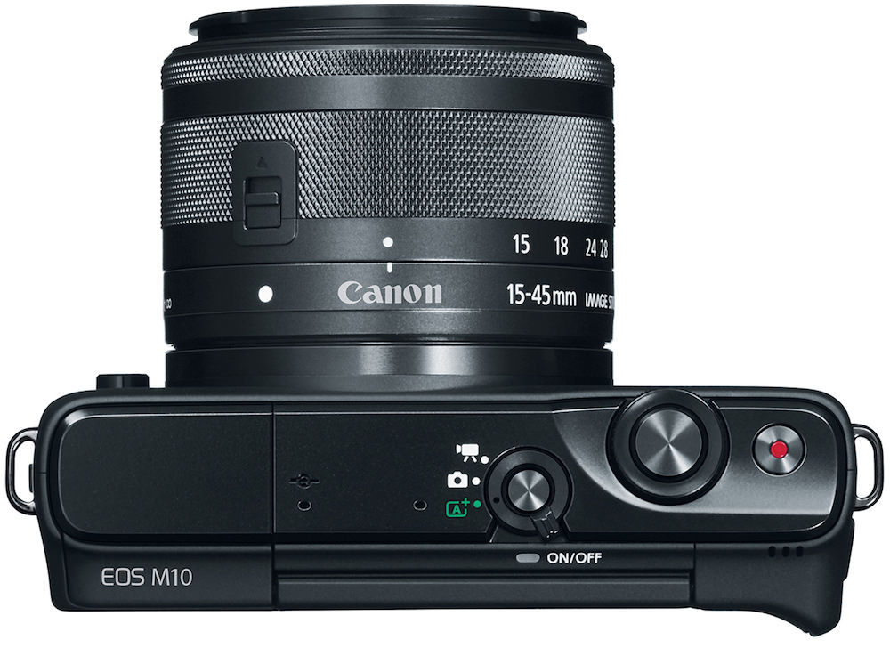 Canon EOS M10 - Black Top