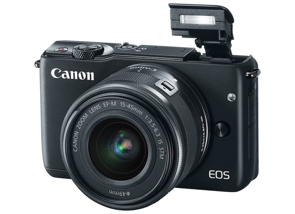 Canon EOS M10 Popup Flash