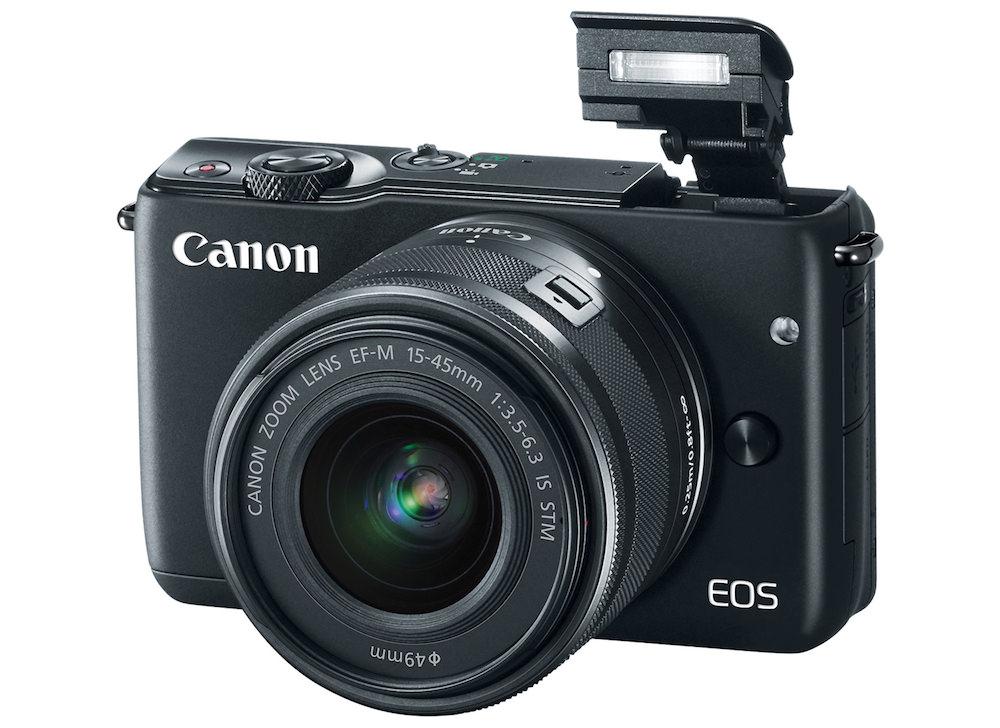 Canon EOS M10 Popup Flash