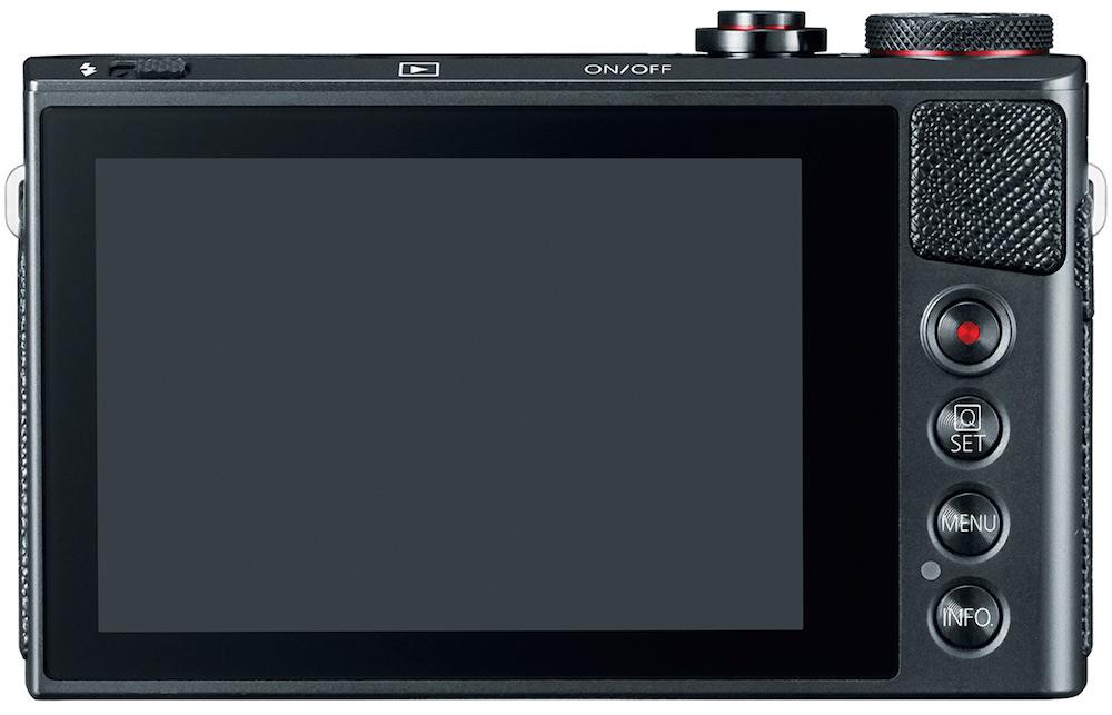 Canon PowerShot G9 X Digital Camera - Back