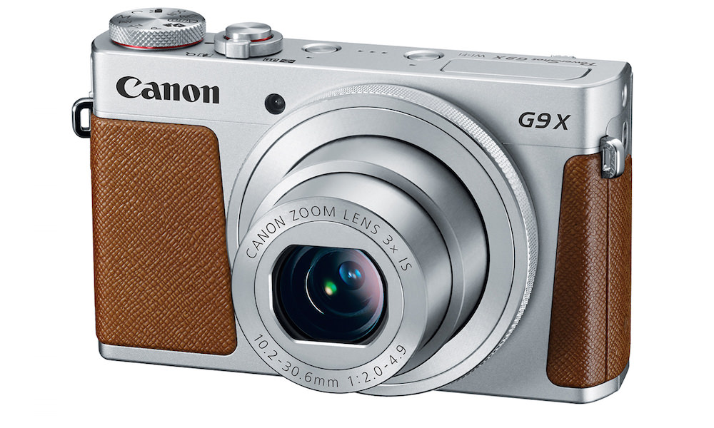 Canon PowerShot G9 X Digital Camera - Silver Brown