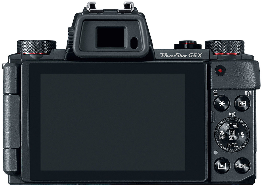 Canon PowerShot G5 X Digital Camera - Back