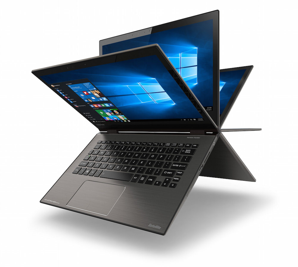 Toshiba Satellite Radius 12 Laptop Flips Around