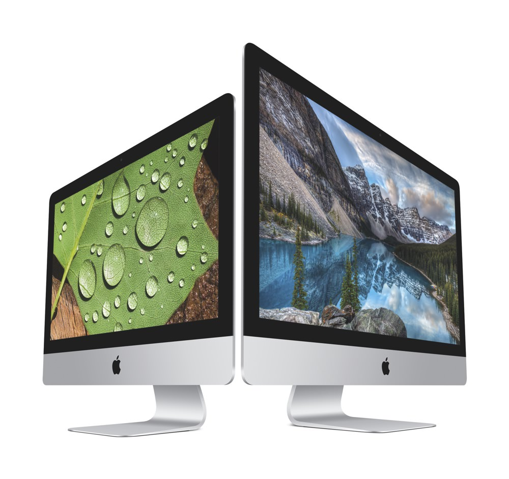 Apple iMac 4K and 5K Late 2015 models