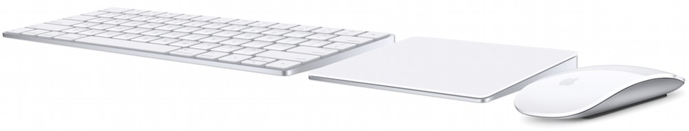 Apple Magic 2 Mouse, Trackpad 2 and Keyboard (2015)