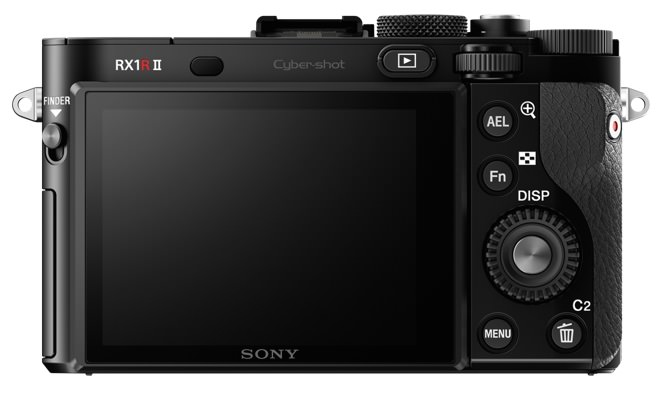 Sony DSC-RX1RM2 Back View