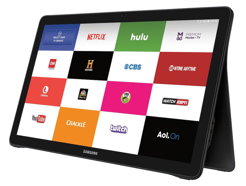 Samsung Galaxy View - Front