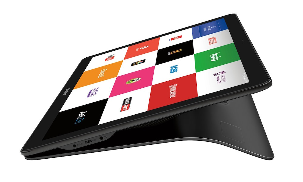 Samsung Galaxy View - Side