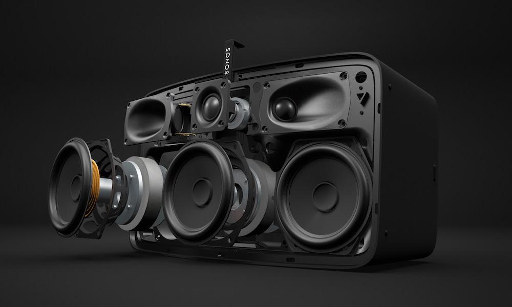 Sonos Play:5 Speaker Exploded