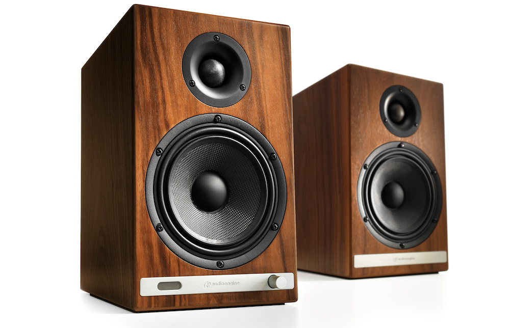 Audioengine HD6 without grilles