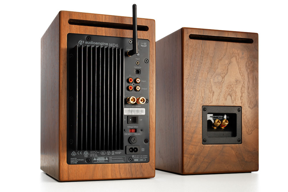 Audioengine HD6 back