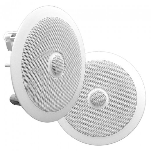 Pyle PDIC60 In-Ceiling Dual 6.5-Inch Speaker System
