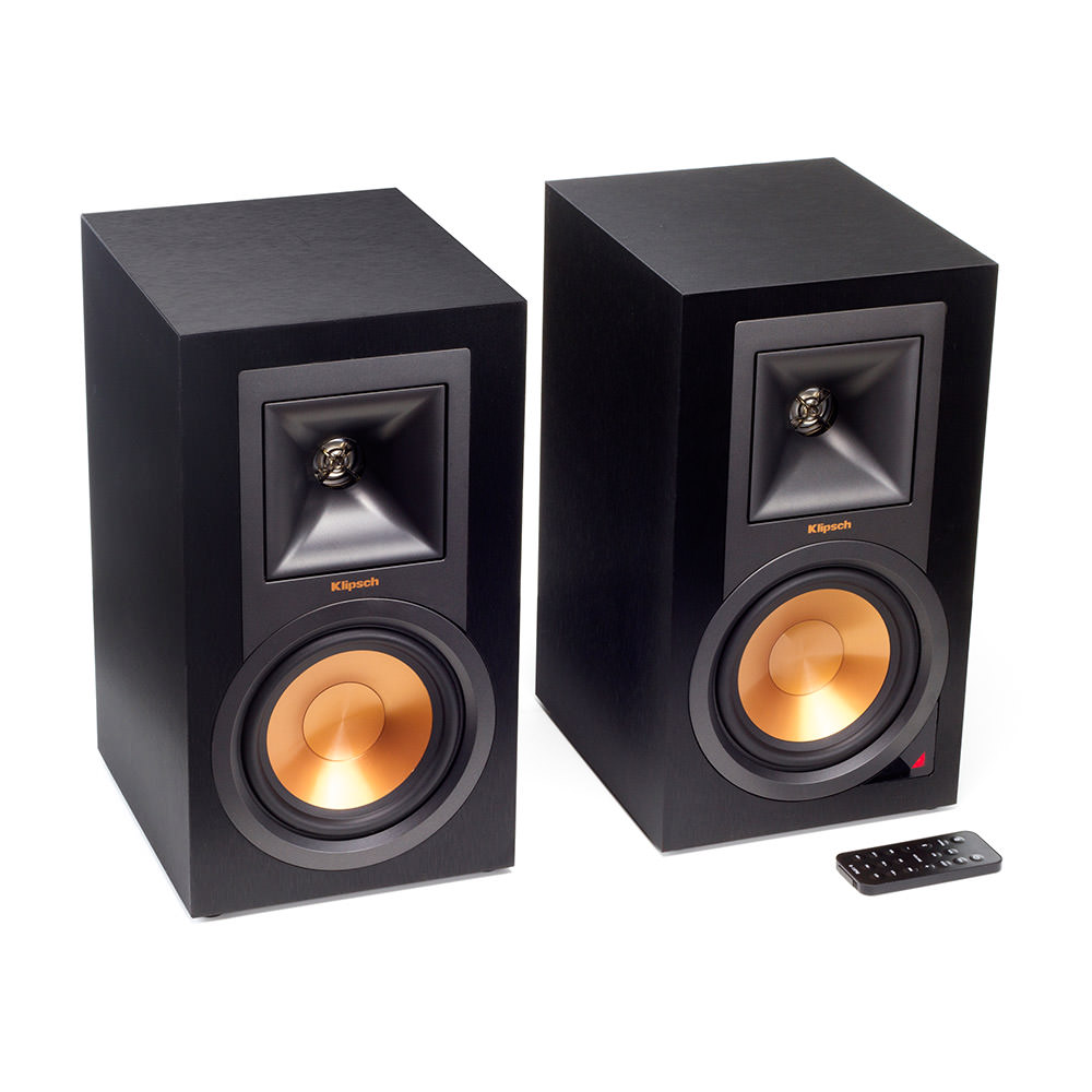 Klipsch R-15PM Front with Remote