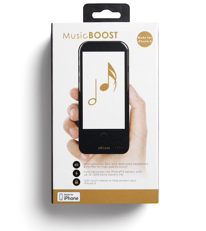 Arcam MusicBOOST Packaging