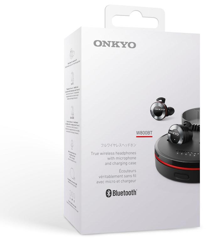 Onkyo W800BT Packaging