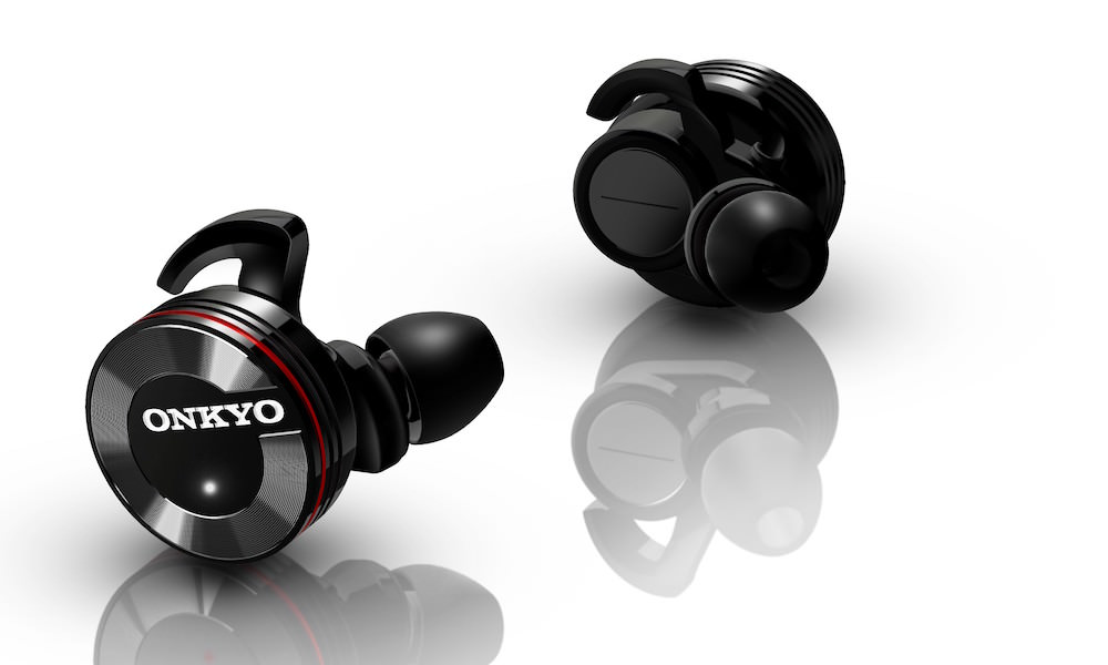 Onkyo W800BT wireless in-ear headphones
