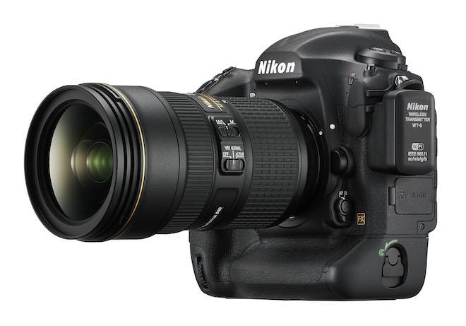 Nikon D5 with lens