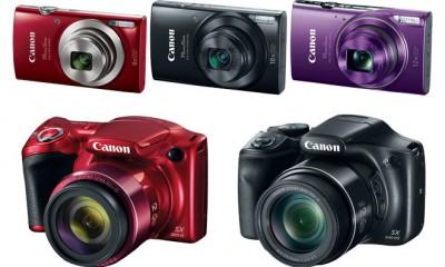 Canon PowerShot 2016 Digital Cameras