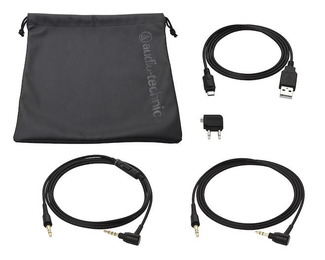 Audio-Technica ATH-MSR7NC accessories