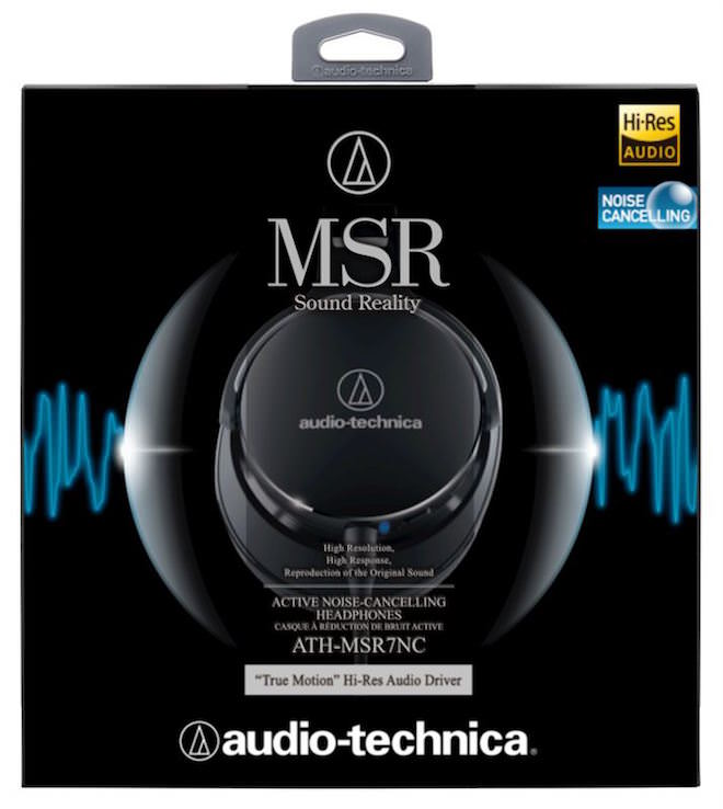 Audio-Technica ATH-MSR7NC Package