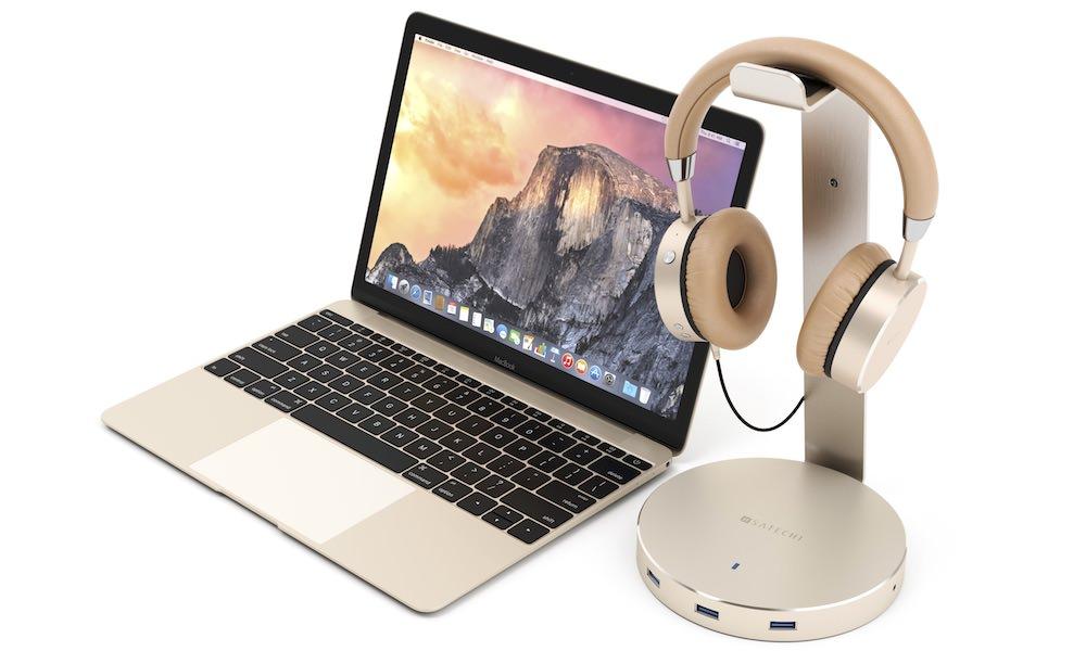 Satechi Aluminium Wireless Headphones Gold
