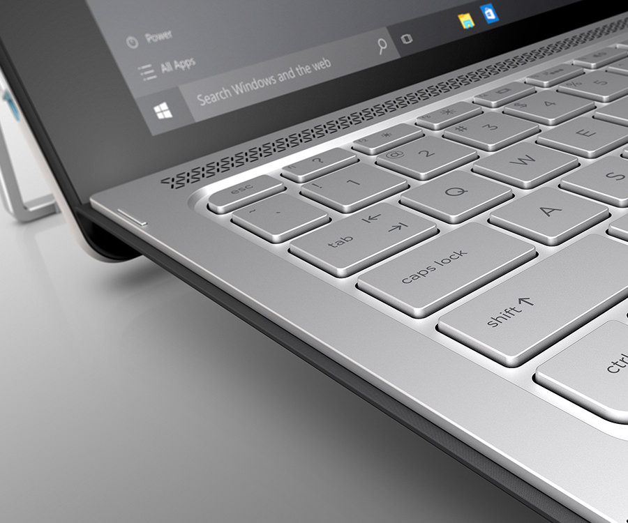 HP Spectre x2 Tablet closeup