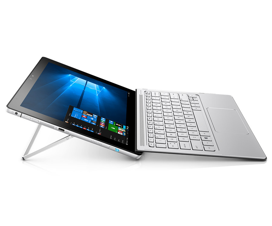 HP Spectre x2 Tablet open