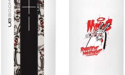 Limited-Edition Nychos Rabbit Eye Movement UE BOOM 2 Package