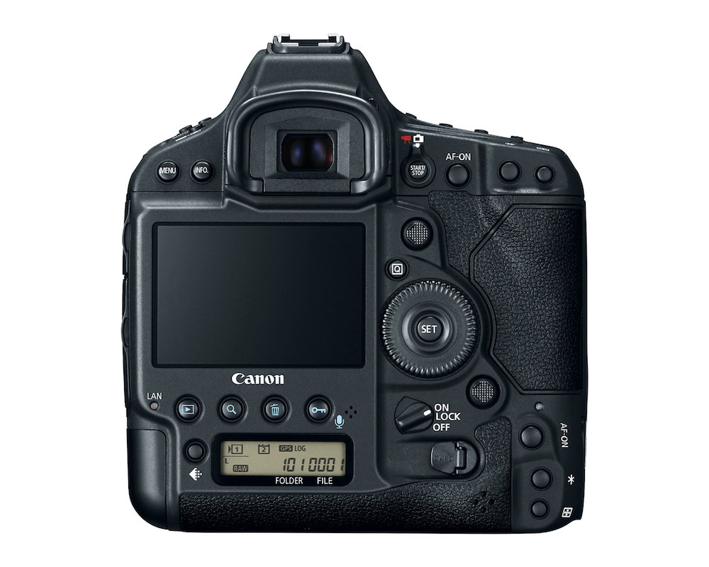 Canon EOS-1D X Mark II DSLR back