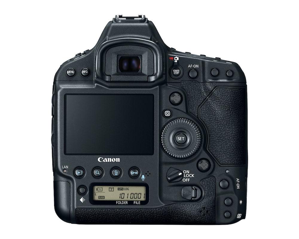 Canon EOS-1D X Mark II DSLR back