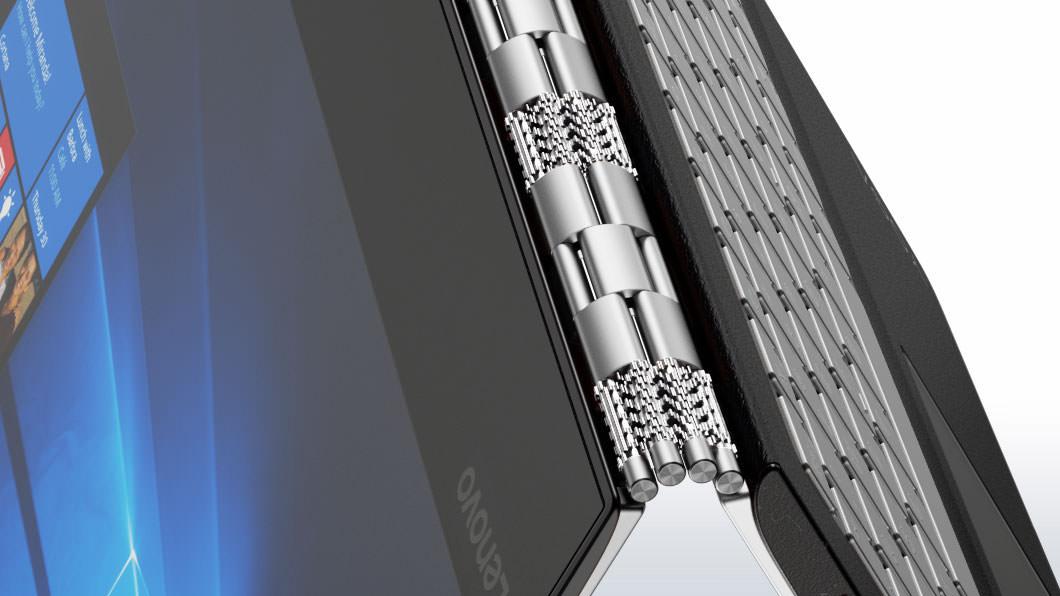 Lenovo YOGA 900S Laptop silver hinge