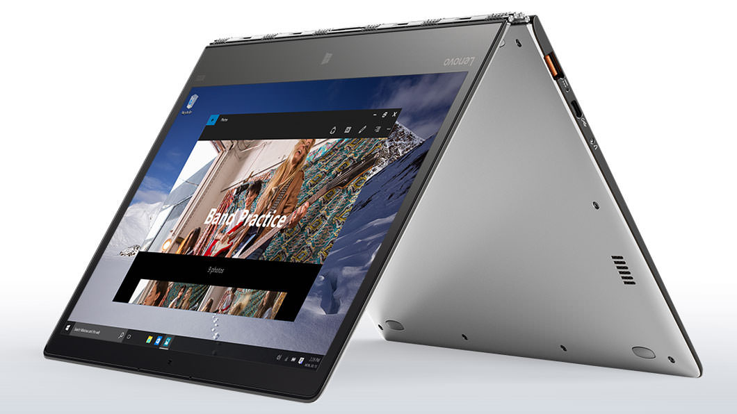 Lenovo YOGA 900S Laptop in Tent Mode