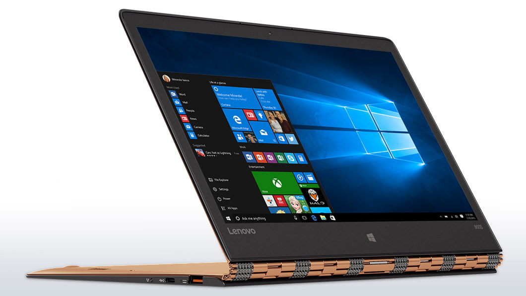 Lenovo YOGA 900S Laptop in Stand Mode