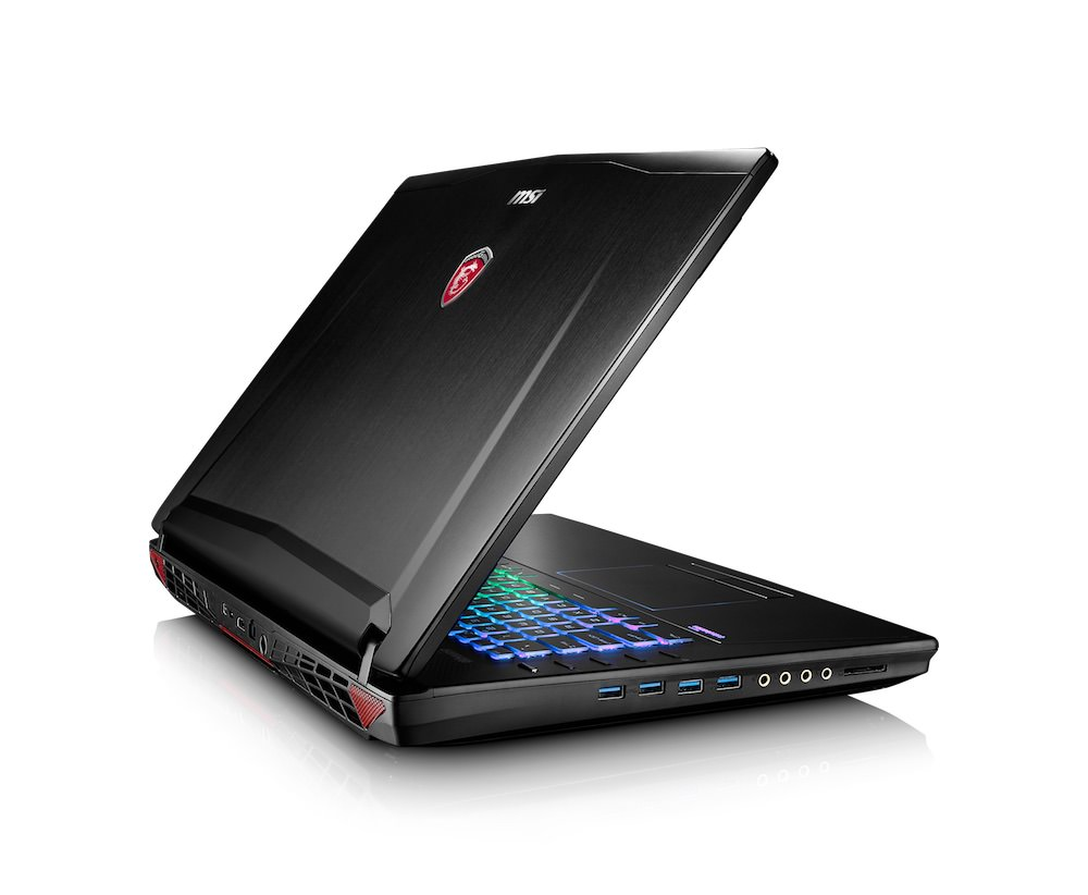 MSI GT72S G Tobii Right Open