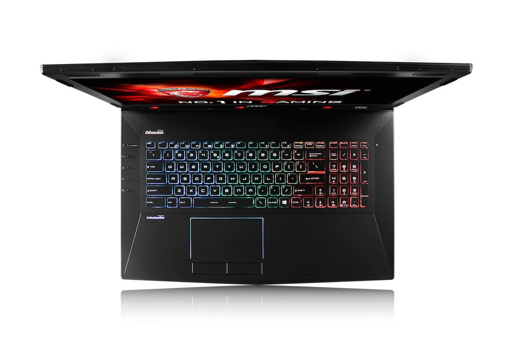 MSI GT72S G Tobii Top Keyboard