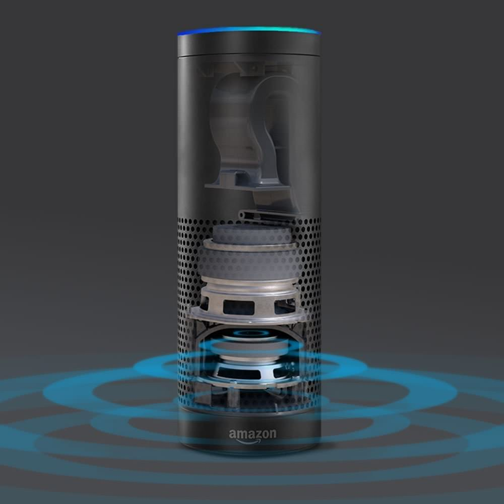 Amazon Echo inside