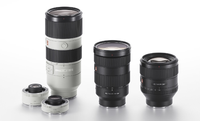 Sony G Master Interchangeable Lenses